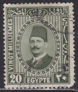 Egypt 142 King Fuad 1927