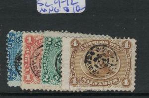 El Salvador SC 9-12 MNG (8dvt)