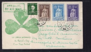 Ireland St Patricks Day 1954 Cover