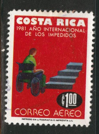 Costa Rica Scott C849 used 1981 Airmail