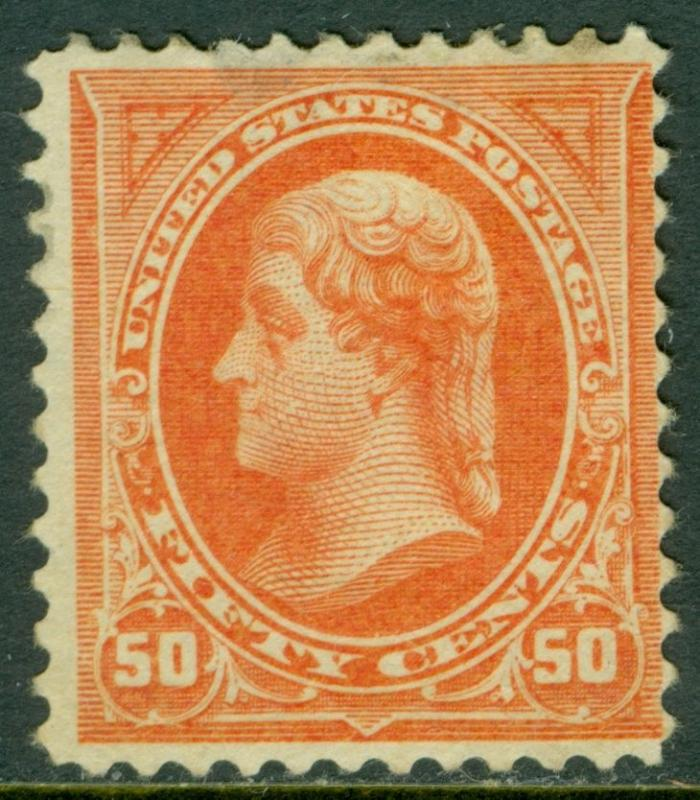 EDW1949SELL : USA 1894 Sc #260 Mint Fresh stamp, disturbed OG PSAG Cert Cat $500