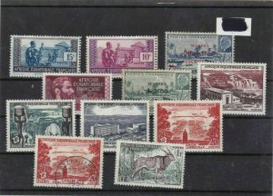 french colonies africa stamps ref 10228