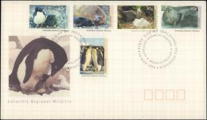 Australian Antarctic Territory, Worldwide First Day Cover, Birds, Animals