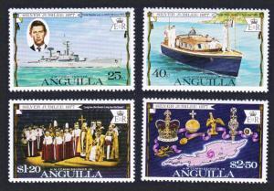 Anguilla Silver Jubilee 4v SG#269-272 SC#271-274