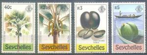 1980 Seychelles 469-472 Trees 4,00 €