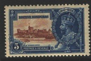 British Honduras Sc#110 MNH - tan gum