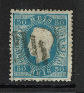 Portugal SC# 43, Used, Hinge Remnant, some embossing tears - S4713