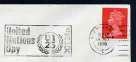 Postmark - Great Britain 1970 cover bearing illustrated s...