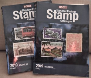 Doyle's_Stamps: 2019 Scott Standard Postage Stamp Catalogue, Vol. 5, N-SAM