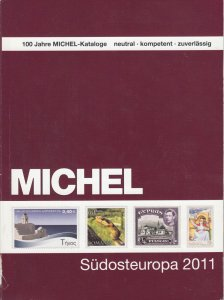 Michel Südosteuropa 2011 stamp catalog for Southeast European countries, used