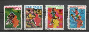 Congo - People's Republic 382-385 MNH