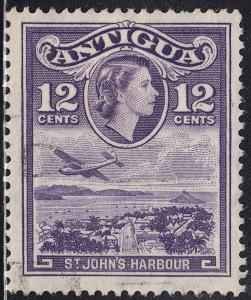 Antigua 115 USED 1953 St. John's Harbour 12¢