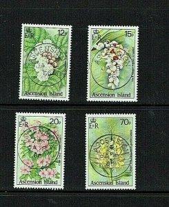 Ascension Island: 1985, Wild Flowers, Fine Used set