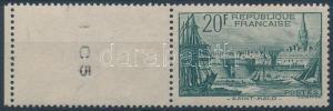 France stamp Defintive blank-field stamp Hinged 1938 Mi 415 WS161026
