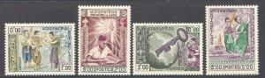 Laos  Scott 56-59  MNH  Complete