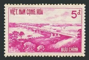 Viet Nam South 169,MNH.Michel 246. Saigon-Bien Hoa Highway Bridge,1961.