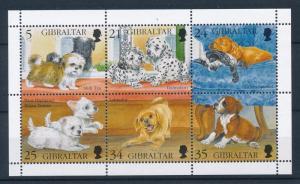 Gibraltar MH S/S 702 Dogs