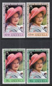 Anguilla 394-397 Queen Mother MNH VF
