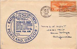 United States, Airmail, Event, Oregon