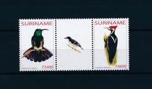 [61036] Surinam 2003 Birds Vögel Oiseaux Ucelli Gutter pair MNH 8294420015