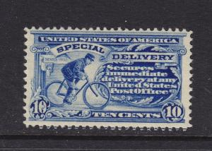 E6 VF original gum lightly hinged with nice color cv $ 230 ! see pic !
