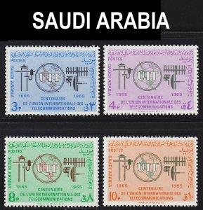 Saudi Arabia Scott 359-62 complete set F to VF mint OG H.