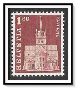 Switzerland #448 Abbey Church MNH