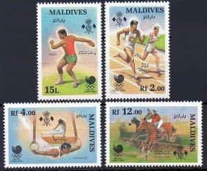 1988 Maldive Islands 1307-1310 1988 Olympic Games in Seoul 6,50 €