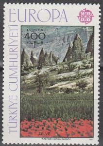 Turkey #2052 F-VF Unused CV $10.00 (D1809)