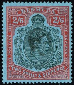 Bermuda #124 King George VI; MNH (3Stars)