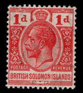 British Solomon Islands Scott 29 MH* KGV