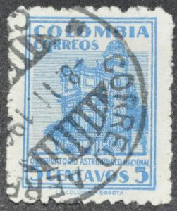 DYNAMITE Stamps: Colombia Scott #565 - USED