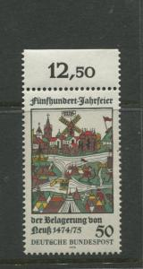 Germany -Scott 1169 - General Issue.-1975 - MNH -Single 50pf Stamp