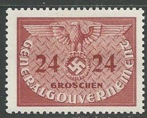 Poland (General Government)    Scott # NO6 - MH