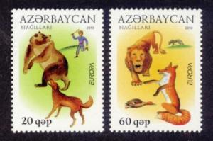 Azerbaijan Sc# 919-20 MNH Europa 2010