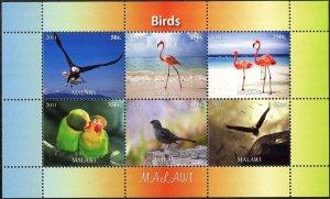 Malawi 2011 Birds (11) MNH Cinderella !