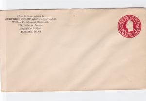 united states suburban stamp club  stamped stamps cover  ref r15860