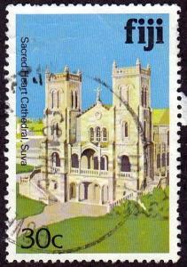 Fiji #419 Sacred Heart Cathedral, Suva,1980. PM