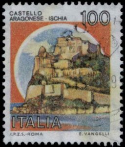 1980 ITALY SC#1415 ARAGONESE CASTLE USED