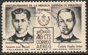 MEXICO C284 50th Anniversary Defense of Veracruz Used (1163)