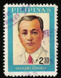 Philippines, Galicano Apacible, 2.30P (T-7471)