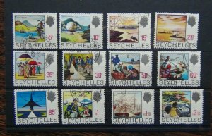 Seychelles 1969 - 1975 values to 3.50r Used