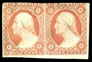 U.S. 1851-57 ISSUE 11A  Used (ID # 84196)