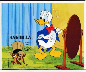 DISNEY ANGUILLA 443 MINT NH EASTER 1981 S/S