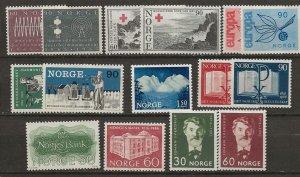 Norway 471//494-5 8 sets. [m]