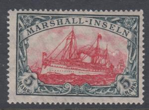 MARSHALL ISLANDS 27 YACHT MINT HINGED OG NO FAULTS VERY FINE