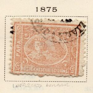 Egypt 1875 Early Issue Fine Used 5p. 324048