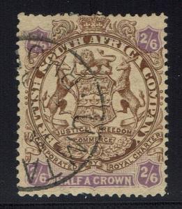 Rhodesia SG# 48, Used, Shallow Top Thin/Pinhole -  Lot 010216