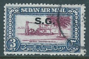 Sudan, Sc #CO3, 3pi Used