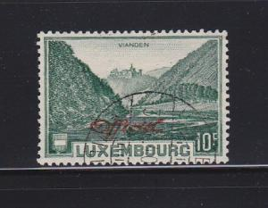 Luxembourg O182 Set U Official Stamps